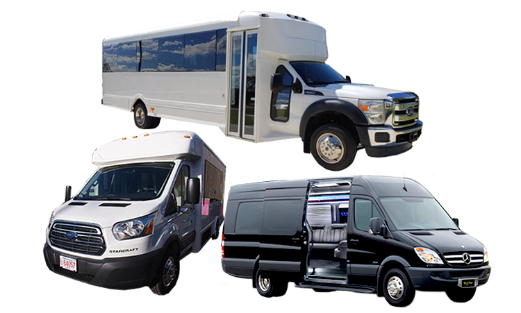 party bus & limo vehicles in Boston