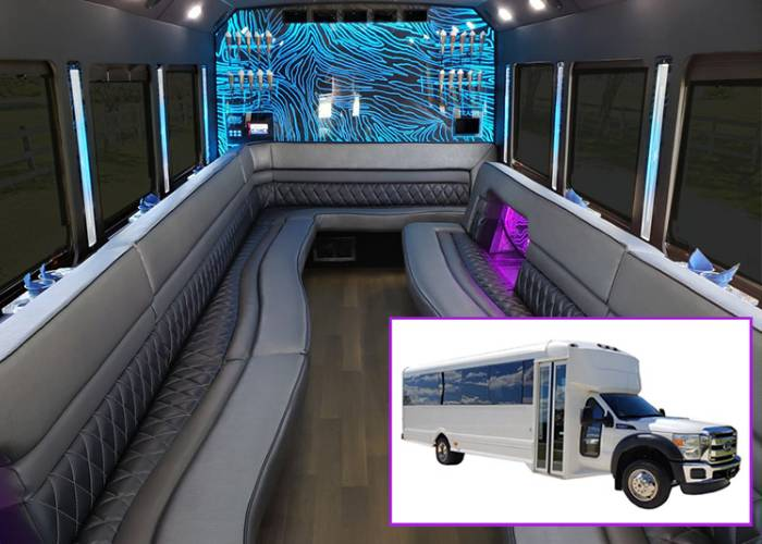 Ford 550 Party Bus Rental in Boston